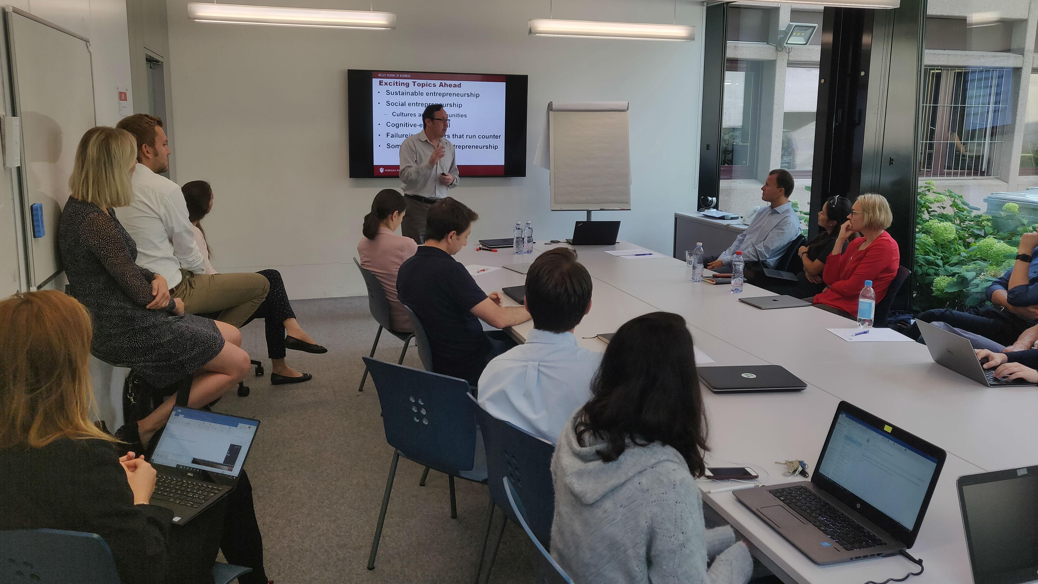 Research Seminar with Dean Shepherd